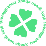 Bookdifferent stay green check